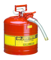 AccuFlow™ safety cans combine protection with convenience (5-gallon)