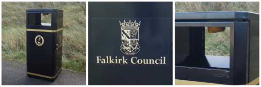 Falkirk Council favour Wybone litter bins