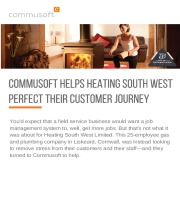 Commusoft Helps Heating South West Perfect Their Customer Journey
