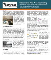 Pesttrain Customer Case Study
