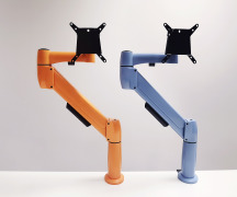 NorLink recognises the ergonomic benefits of using the Adapt SpaceArm monitor arm