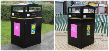Wybone wheelie bin covers regenerate the City of Glasgow