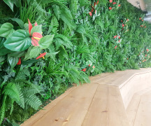 Artificial Foliage Walls