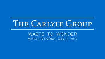 CSR IN ACTION - Carlyle Group