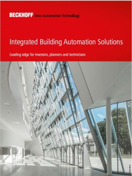 Integrated Building Automation Solutions from Beckhoff